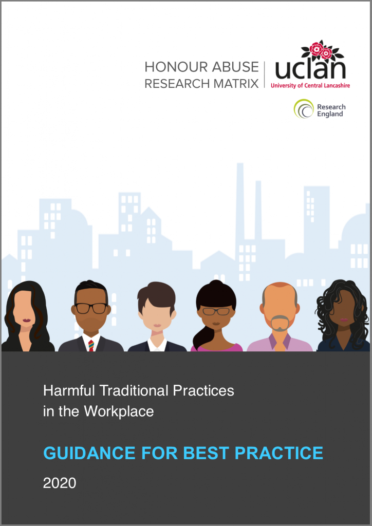Projects - Harmful traditional practices in the workplace - guidance for best practice