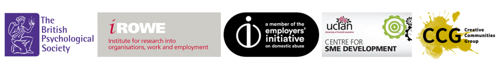 Members The British Psychological Society, iROWE, EIDA, Centre for SME Development, CCG