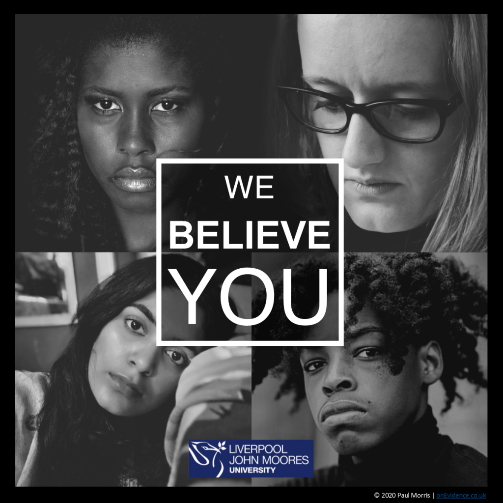 Projects - We Believe You - domestic abuse health communication