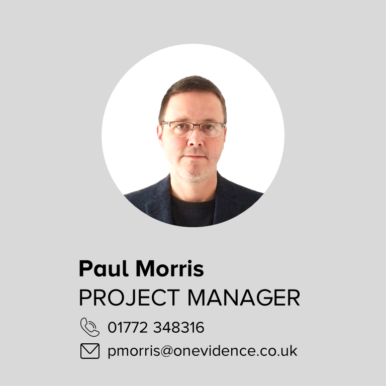 About: Paul Morris - onEvidence