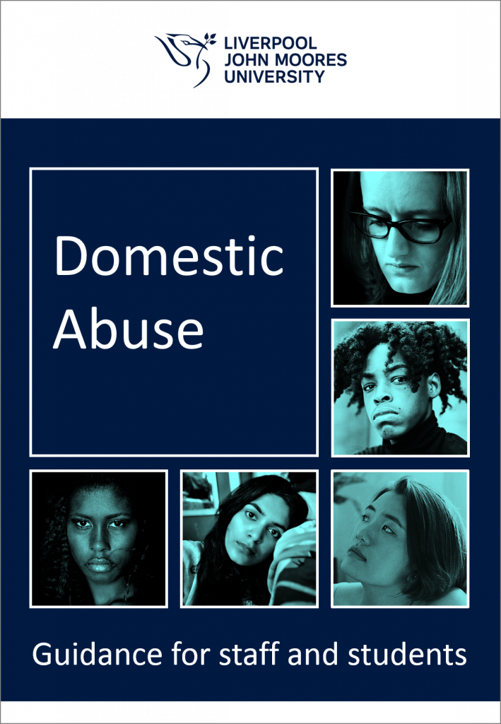 Domestic abuse guidance for staff and students - Liverpool John Moores University
