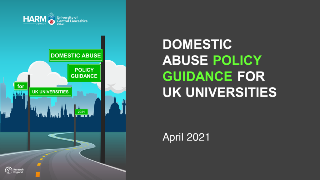 Domestic Abuse Policy Guidance for UK Universities